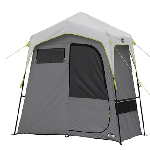 CORE Instant Camping 7 x 3.5-Foot 2-Room Utility Shower Tent with Changing Room - image 1 of 4