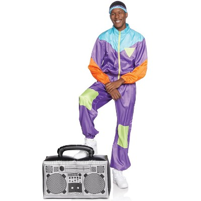 Leg Avenue Men's Totally Awesome 80s Ski Suit Adult Costume