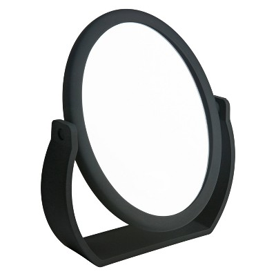 "8"" Vanity Rubberized 1X-10X Magnification Mirror - Home Details"