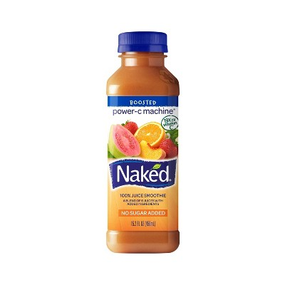 Naked Power-C Machine All Natural Fruit + Boost Juice Smoothie - 15.2oz