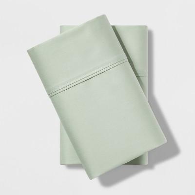 Standard 500 Thread Count Tri-Ease Pillowcase Set Green - Project 62™ + Nate Berkus™
