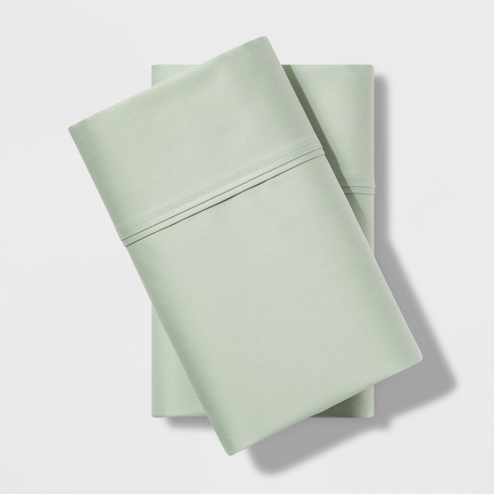 Standard 500 Thread Count Tri-Ease Pillowcase Set Green - Project 62 + Nate Berkus was $19.99 now $13.99 (30.0% off)