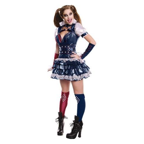 Women S Secret Wishes Harley Quinn Adult Costume Target