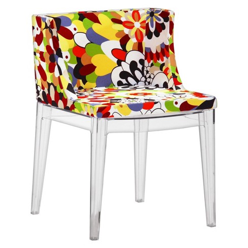 Funky Polycarbonate Dining Chair (Set of 2) - ZM Home - image 1 of 5