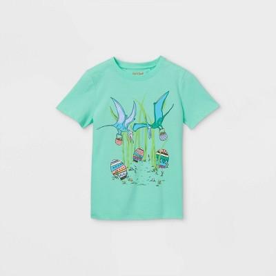 Boys' Dinosaur Eggs Graphic Short Sleeve T-Shirt - Cat & Jack™ Green