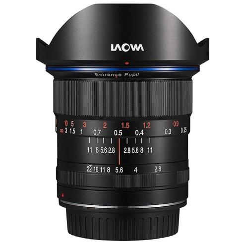 Laowa 12mm f/2.8 Zero-D Ultra-WideAngle for Nikon AI Cameras - Black - image 1 of 2