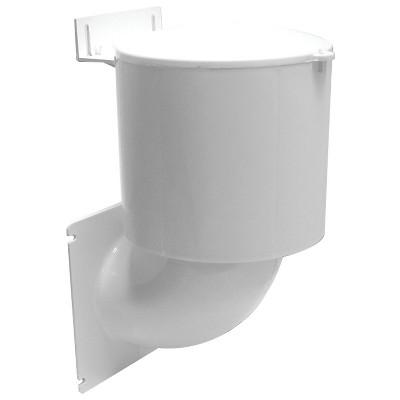 "Lambro Industries Lambro Dryer-Vent Seal White 4"" LAO289W"
