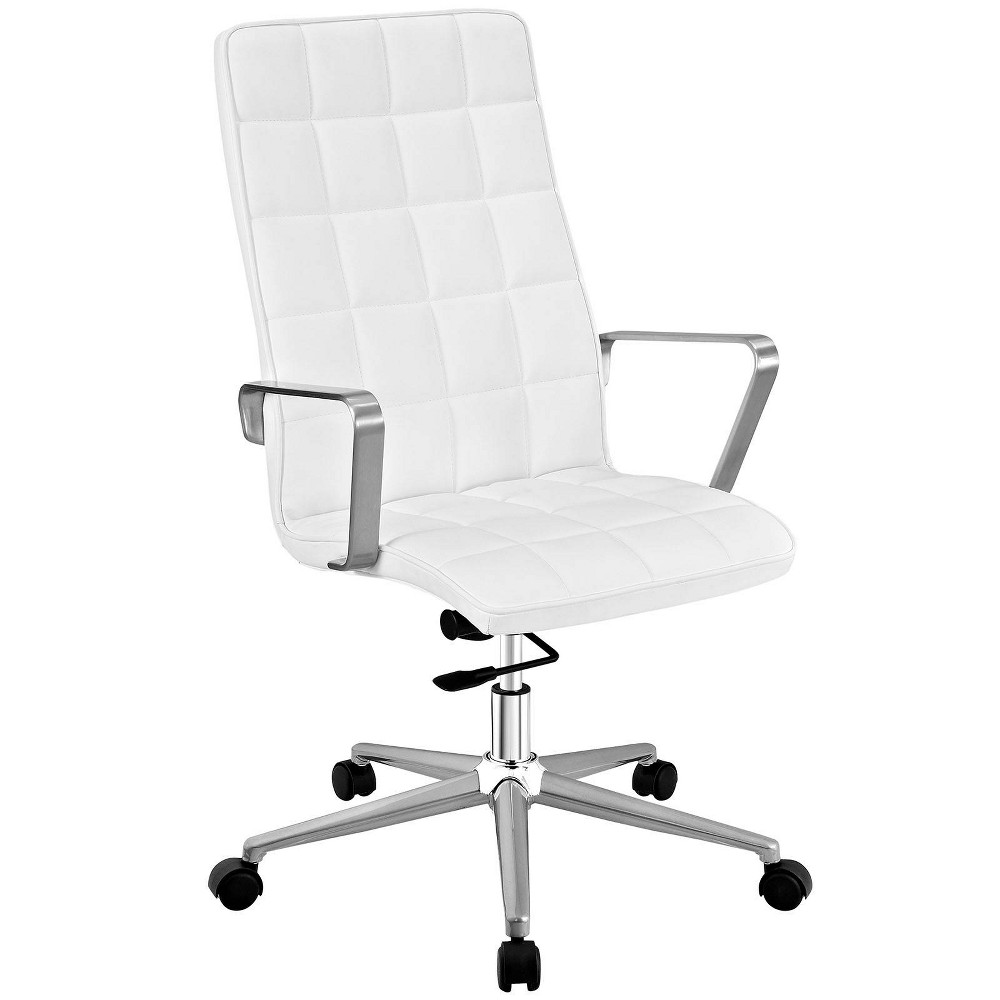 Tile Highback Office Chair White - Modway