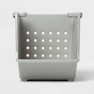 Bathroom Stacking Organizer Large Gray PBR136 - Room Essentials™