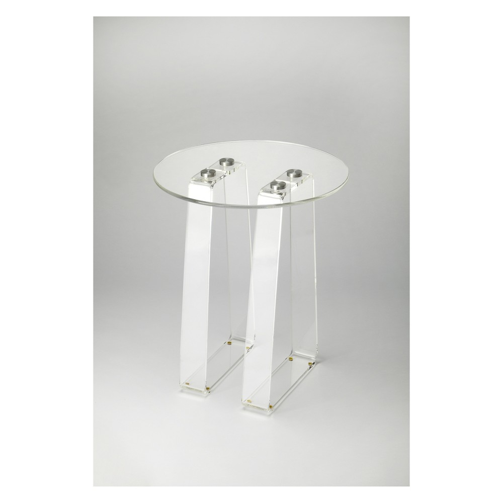 Blanca Side Table Clear Acrylic - Butler Specialty