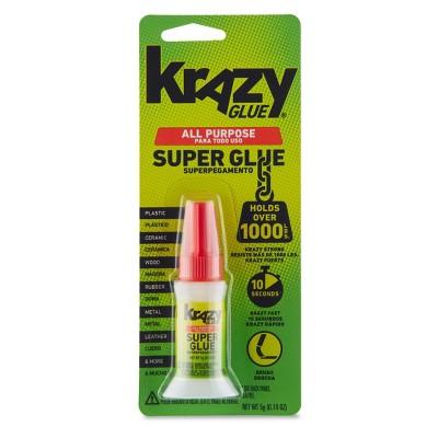 Krazy Glue All Purpose Brush Applicator Super Glue 5g
