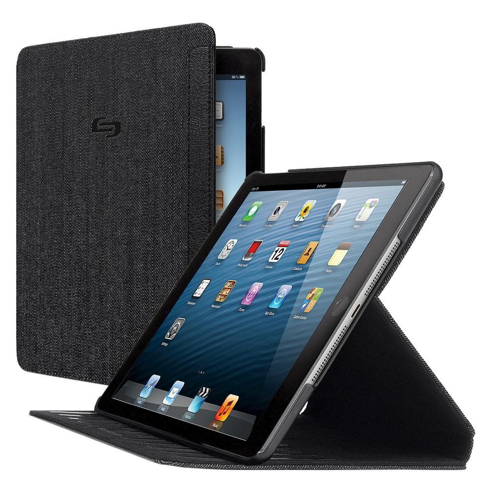 Solo Sentinel Slim Case for iPad Air - Black