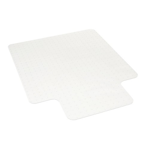 """36""""x47"""" Basyx Polycarbonate Chair Mat with Lip For Low Pile Carpet Clear - HON - image 1 of 4"""