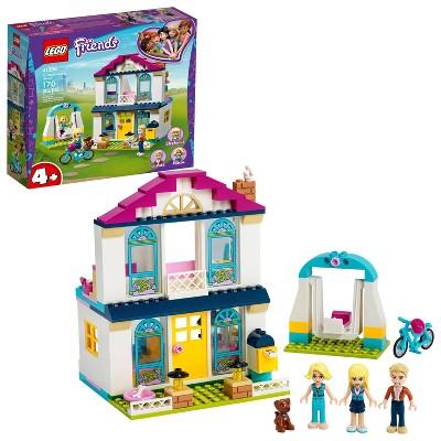 LEGO Friends 4+ Stephanie's House with Mini-Doll and Mini Toy Dog Figure 41398
