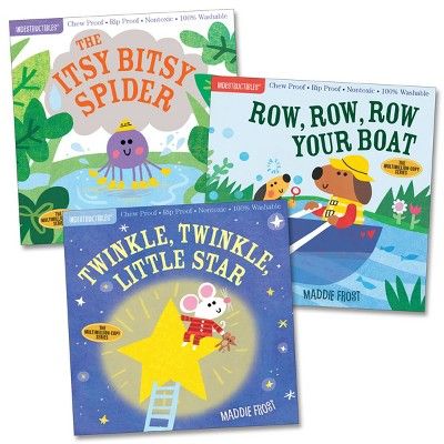 Workman Publishing Company Indestructibles Nursery Rhyme Picture Books - Set of 3