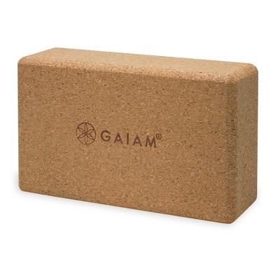 Gaiam® Cork Yoga Brick
