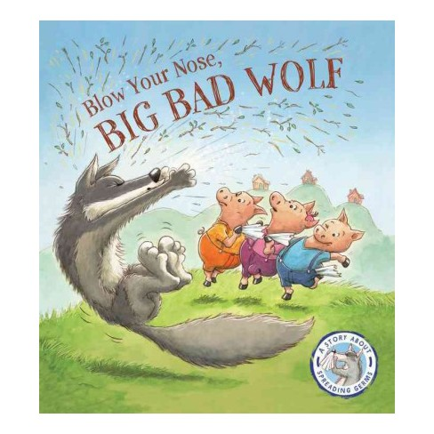 blow your nose big bad wolf a story about target