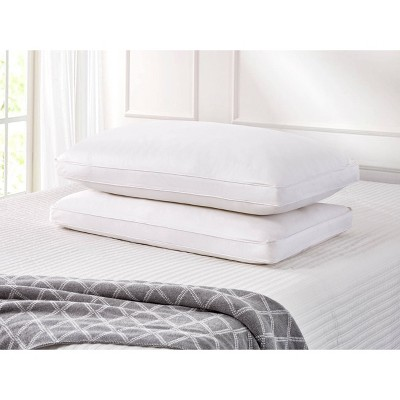 King 2pk Side Sleeper Goose Feather & Down Fiber Bed Pillow - Cannon