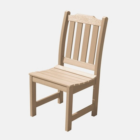 Liegh Patio Dining Side Chair Tuscan Taupe - Highwood - image 1 of 3