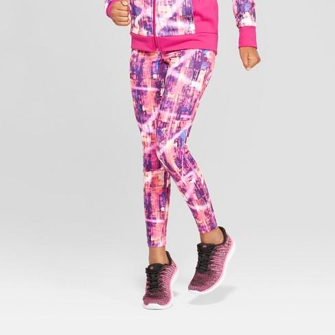 f1fe988498ec Girls' Printed Leggings - C9 Champion® Magenta : Target