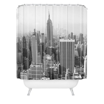 Bethany Young Photography In a New York State of Mind Shower Curtain Black/White - Deny Designs