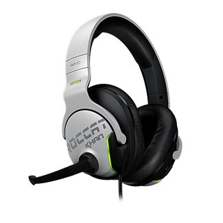 ROCCAT Khan Aimo Wired PC Gaming Headset - White