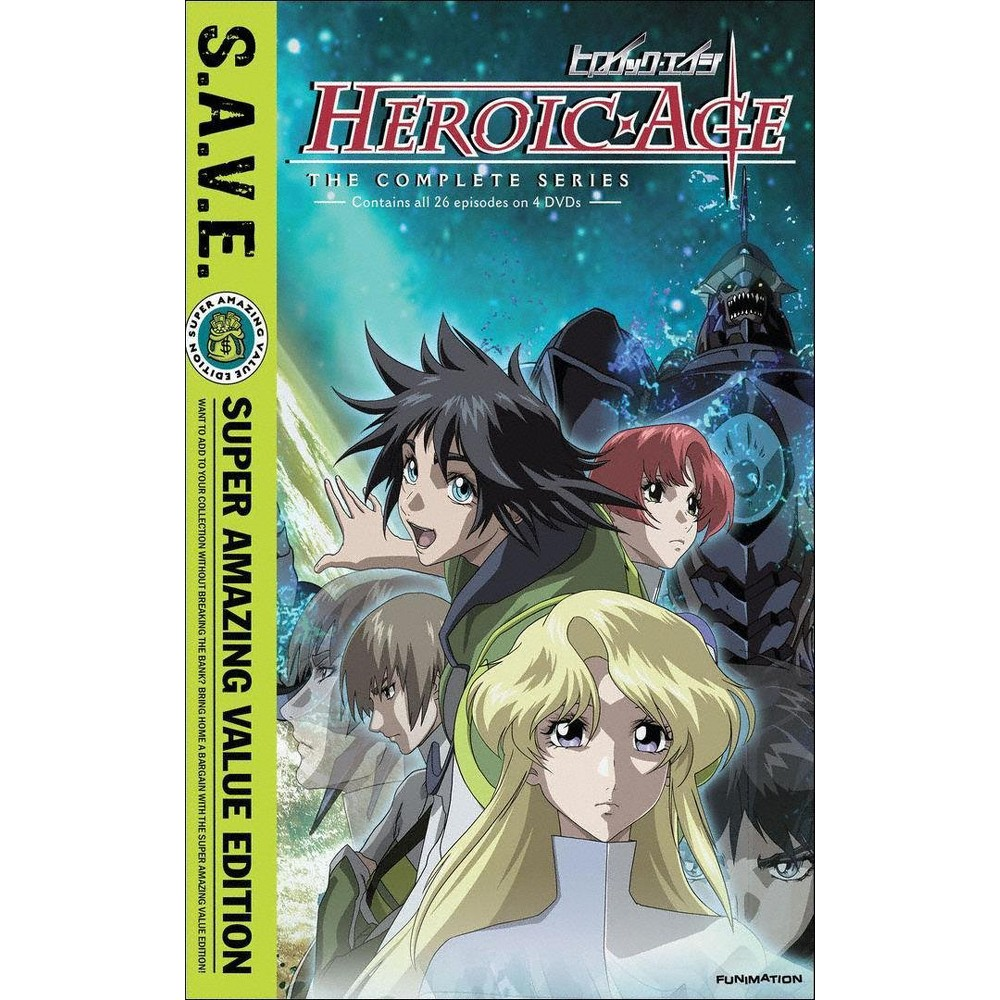 Heroic Age:Complete Series (Save) (Dvd)