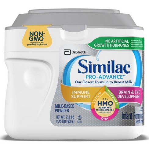 Similac Pro-Advance Non-GMO Infant Formula with Iron Powder - 23.2oz - image 1 of 4