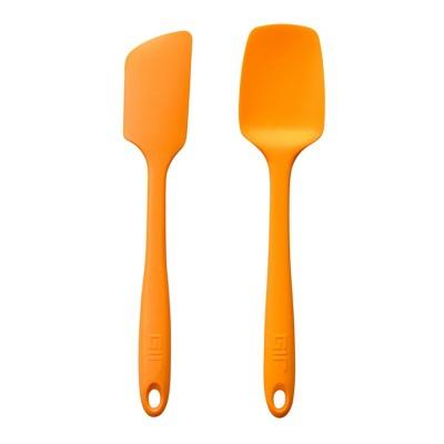 GIR Silicon Spatula and Spoonula Kitchen 2pc Set Orange