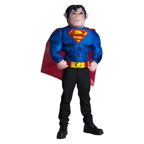 Men's DC Comics Superman Inflatable Halloween Costume Top - image 1 of 1