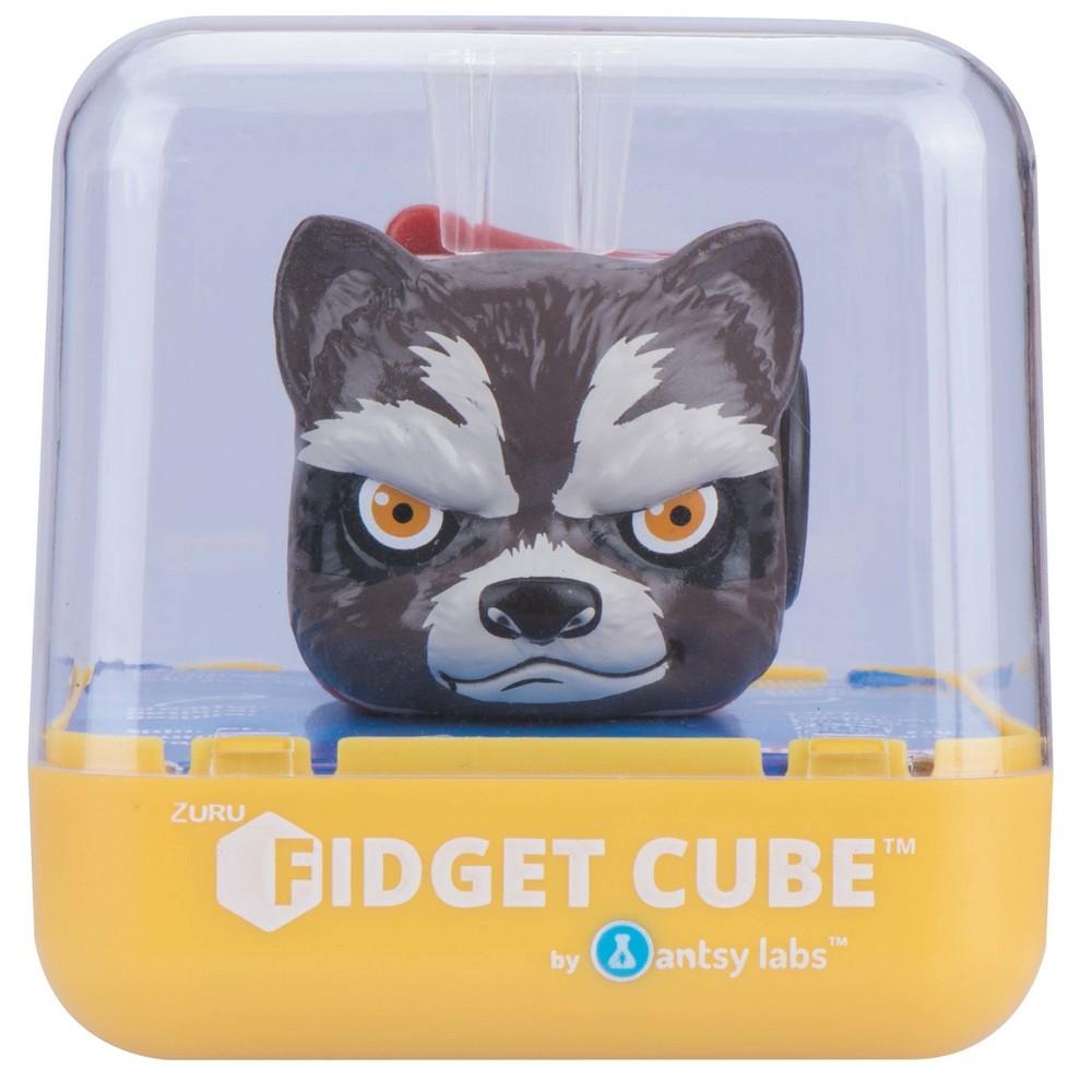Fidget Cube Zuru - Marvel Cube - Rocket, Multi-Colored