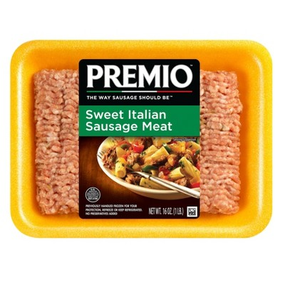 Premio Sweet Italian Ground Dinner Sausage - 16oz