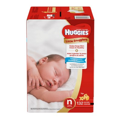 Huggies Little Snugglers Diapers - Newborn (132ct)