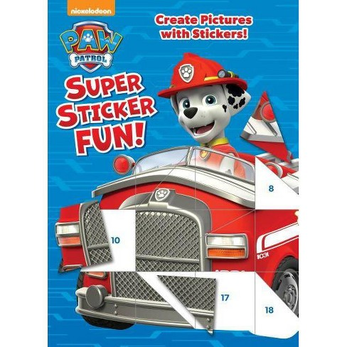 Paw Patrol Super Sticker Fun! - image 1 of 1