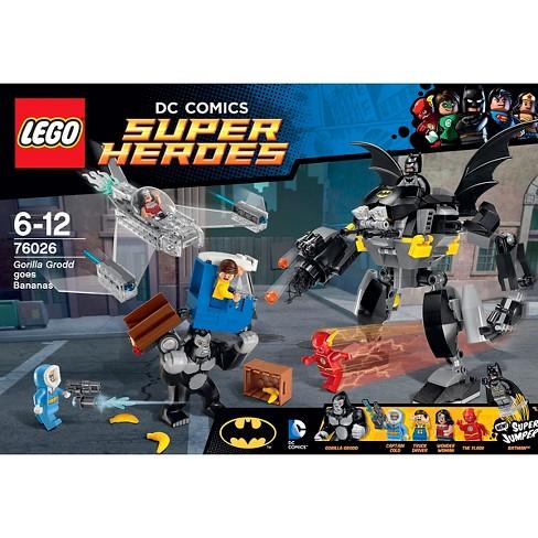 Lego Super Heroes Gorilla Grodd Goes Bananas 76026 Target