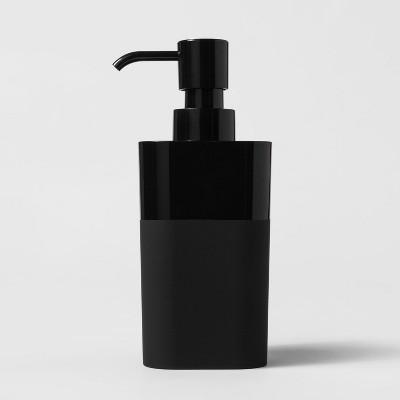 Plastic Soap/lotion Dispenser Black - Room Essentials™