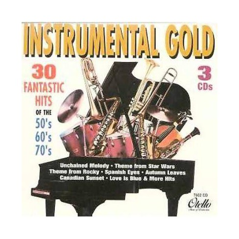 London Pops Orchestra - Instrumental Gold: 30 Fantastic Hits of the 50's, 60's & 70's (CD) - image 1 of 1