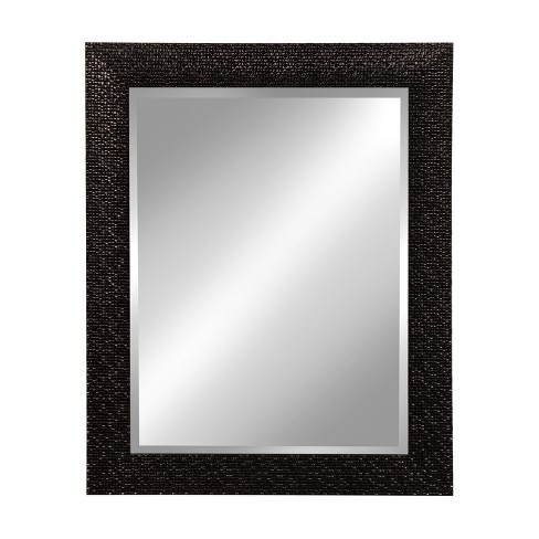 Kate and Laurel Coolidge Framed Wall Vanity Beveled Mirror - image 1 of 5