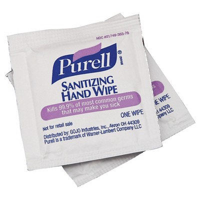 Purell® Individually Wrapped Hand Sanitizing Wipes - 300ct