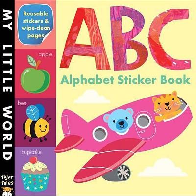 ABC Alphabet Sticker Book Juvenile Fiction by Tiger Tales (Paperback)