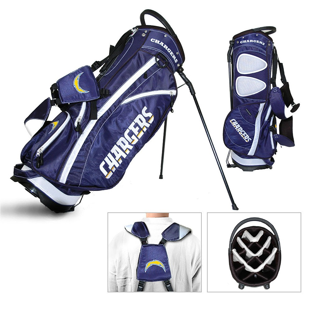 NFL Los Angeles ChargersTeam Golf Fairway Stand Bag, Los Angeles Chargers