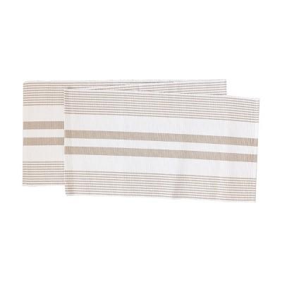 C&F Home Classic Stripe Woven Table Runner
