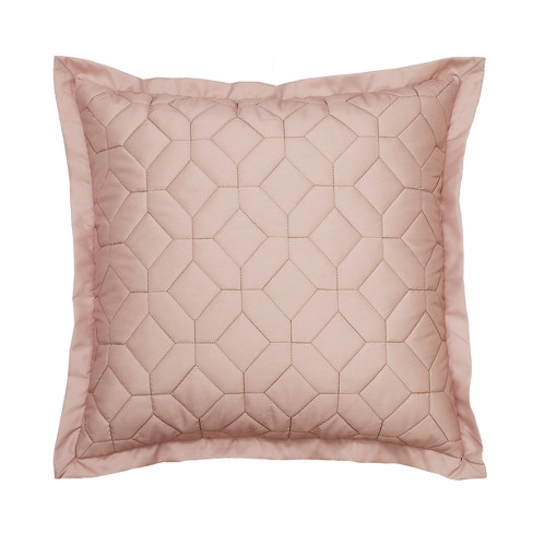 Montreal Geo Applique Throw Pillow Blush - Beautyrest - image 1 of 3