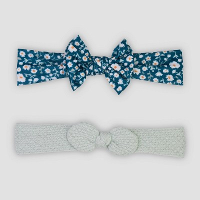 Baby Girls' 2pk Bows Headwrap Set - Just One You® made by carter's