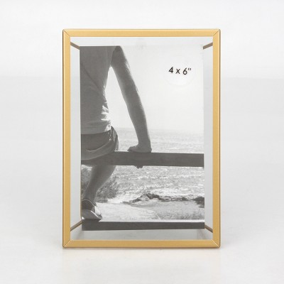 4  x 6  Frame With Symmetrical Wire Back Brass - Project 62™