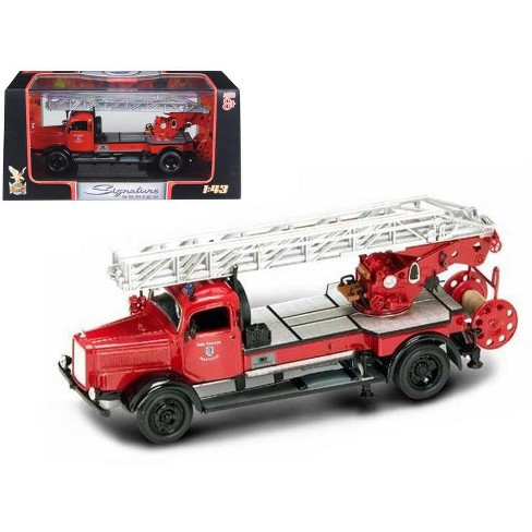 1944 Mercedes Typ L4500F Fire Engine Red 1/43 Diecast Model by Road Signature - image 1 of 1