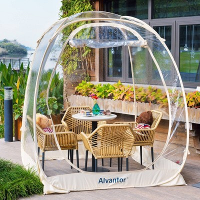 6'x6' Instant Pop-Up Bubble Tent - Alvantor