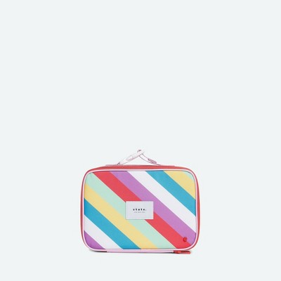 STATE Bags Kids' Metallic Rodgers Lunch Tote - Stripe