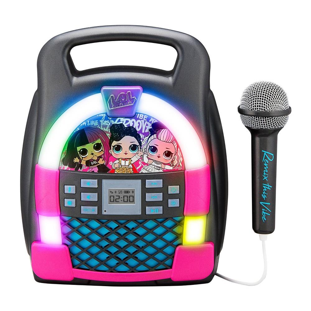 L O L Surprise Remix Bluetooth Mp3 Karaoke With Mic