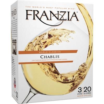 Franzia Chablis White Wine - 3L Box